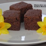 Gluten-free and guilt-free cashew brownies