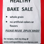 Bake Sale at a school fundraiser event
