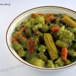 A simple Thai green curry