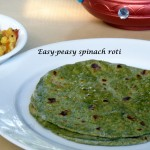 Easy-peasy spinach roti and some useful tips