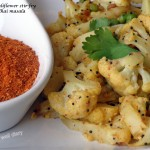 Easy cauliflower stir-fry with Sonal's homemade kadhai masala powder
