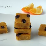 Apricot-Orange halwa or fudge (gluten-free, vegan)