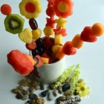 Fruit Kebabs Using Pop Chef- a Toddler Friendly Food (Guest Post at Traditionally Modern Food)