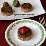 Strawberry Mini-cheesecakes – a Mother's Day Special (gluten-free, vegan)
