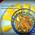Pineapple Kesari – a Father's Day Special for Diabetes Friendly Thursdays
