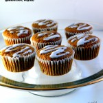 Carrot Orange Cupcakes with Coconut Cream Drizzle