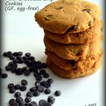 Honey sweetened Mini Chocolate Chip Cookies (gluten-free, egg-free)- Meatless Mondays
