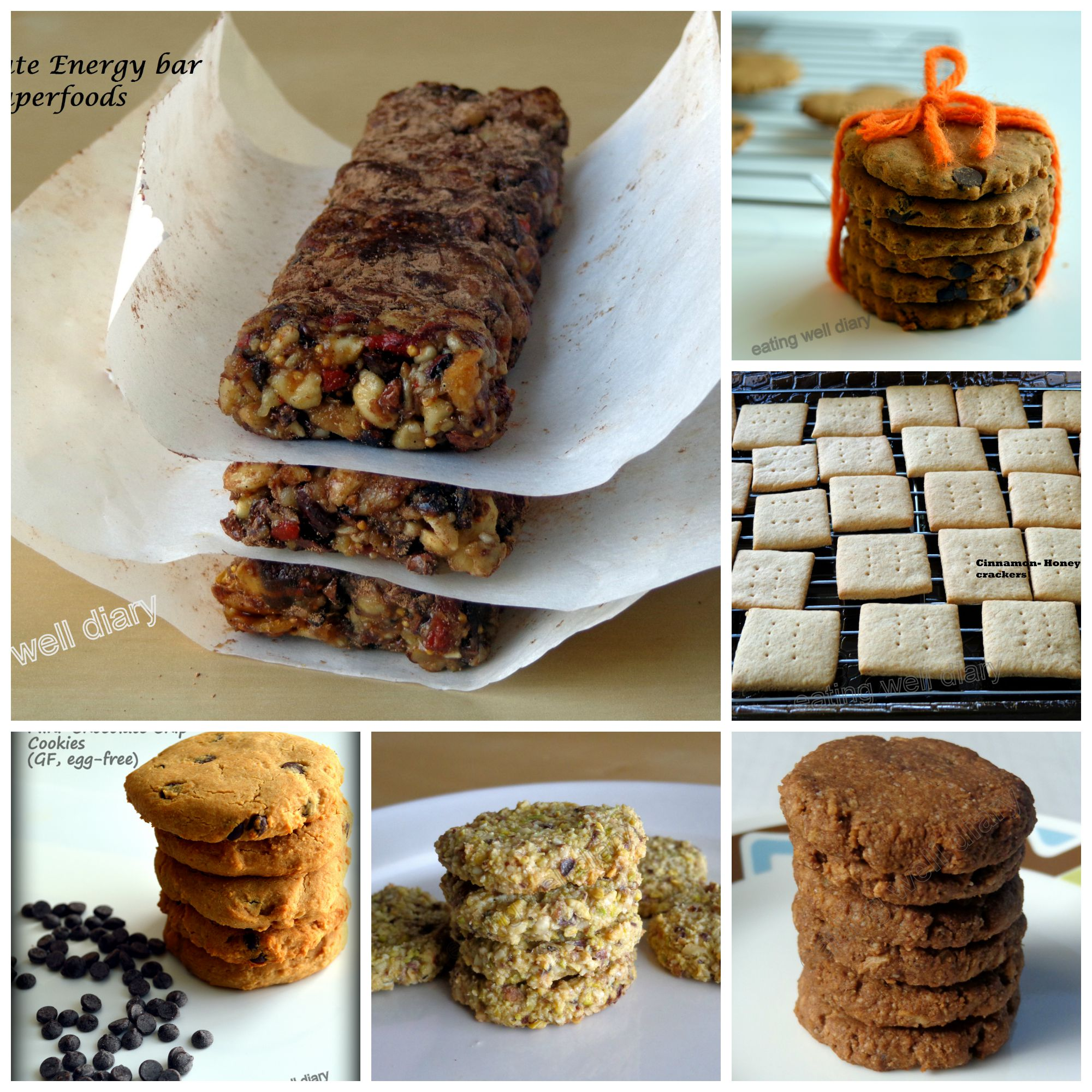 Healthy Snack Ideas from my blog For A Tailgate Party!