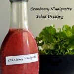 Cranberry Vinaigrette Salad Dressing