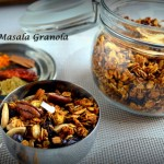 Easy Savory or Masala Granola For Diabetes Friendly Thursdays