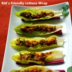 Kid's Friendly Lettuce Wraps for Diabetes Friendly Thursdays