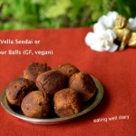 Shallow-fried Vella Seedai (Sweet Rice flour balls) for Krishna Janmashtami