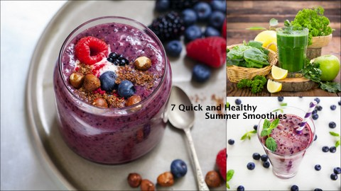 7 Quick and Healthy Summer Smoothie Recipes- Guest Post by Daisy Grace