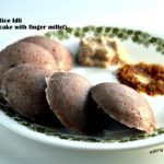 Ragi and Brown Rice Idli (Steamed Multigrain Savory Cake with Finger Millet)-Meatless Monday recipe