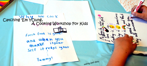 Catching 'Em Young! A Kids' Cooking Workshop