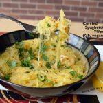 Roasted, Curried Spaghetti Squash or Upma